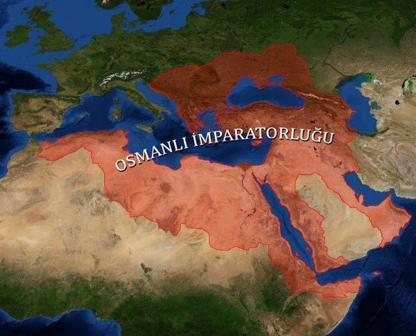"""الدولة العثمانية Photo: #الدولة_العثمانية On Twitter: """"الإمبراطورية العثمانية في"""