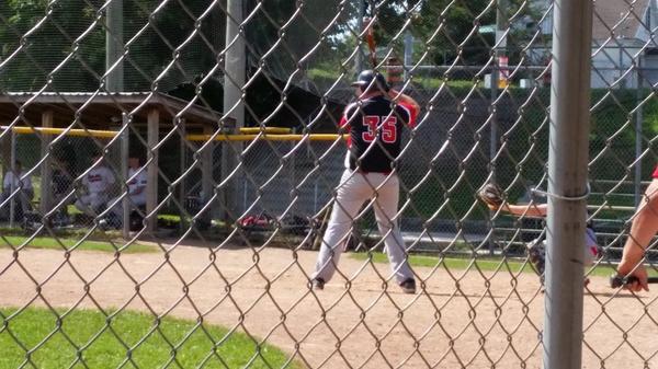 Blowjob baseball feild frnce