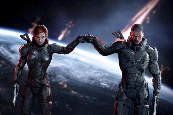Women. Men. Doesn't matter the equipment. You're a gamer. Game on, yo. #masseffect #gamer http://t.co/COhGNrhn6Q