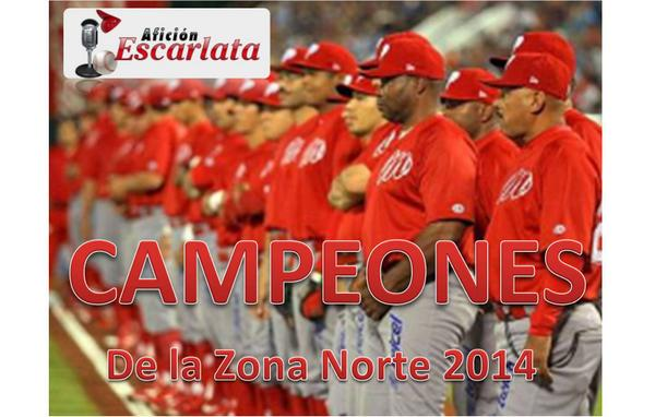 Diablos Rojos del México derrota a Sultanes de Monterrey 5-3, barre la serie y se corona campeón de la Zona Norte http://t.co/fbZ5KPHINl