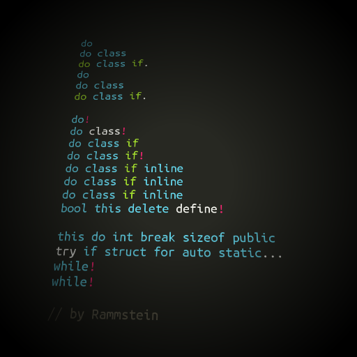"""@_rediris: If Rammstein coded for a living https://t.co/Hd2P4ZYcAV via @CPaladino"" cc @HammerToe"