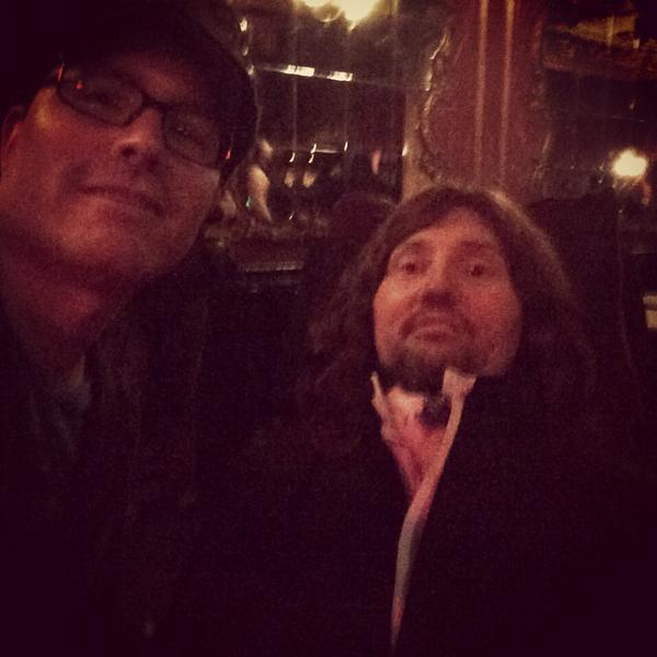 Great to see you tonight @jasonelibecker! #notdeadyet http://t.co/hrPC2zhNkB