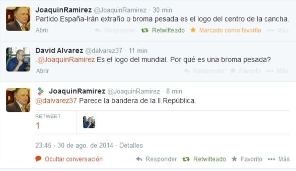 Senador popular critica el logo del #MundialBasquet2014 ..., porque se parece a la bandera republicana http://t.co/tCu4QvDj8t