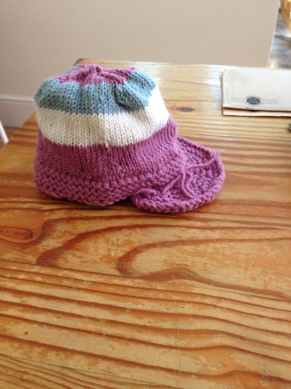 Ruth's True Brit Knits Jeremy Hat in Debbie Bliss Baby Cashmerino
