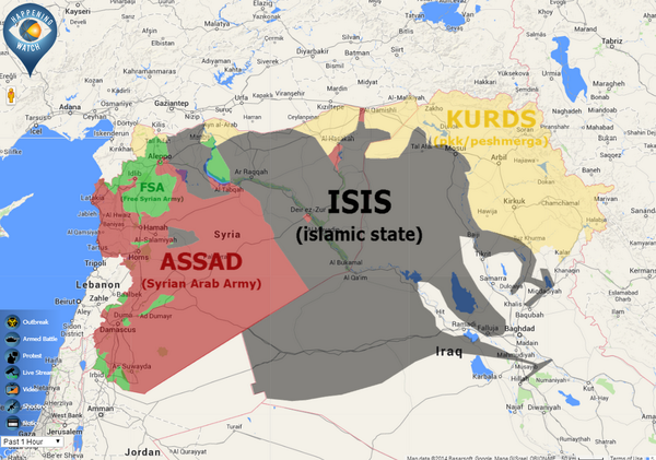happening watch on twitter latest maps of controlled areas syria iraq war more conflict maps at httptcoieck1m58ym