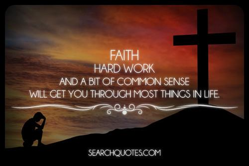 Faith. Hard work. Common Sense. http://t.co/gtGGg5rAwi