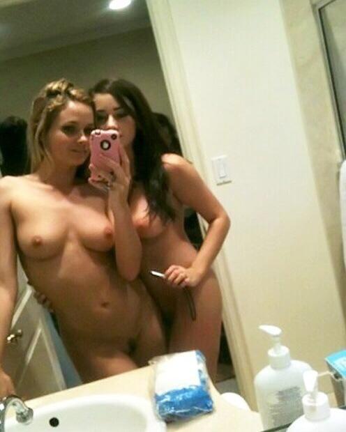 Agree, this girl bathroom selfie topless