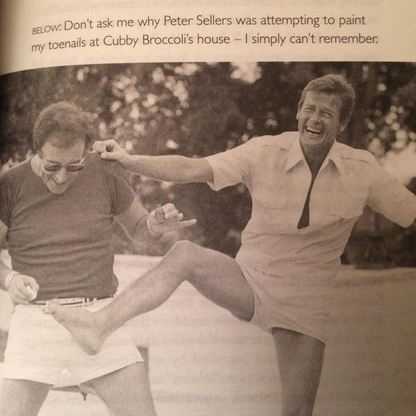 My favourite photo caption from Roger Moore's new book. http://t.co/flwZ46cgJY