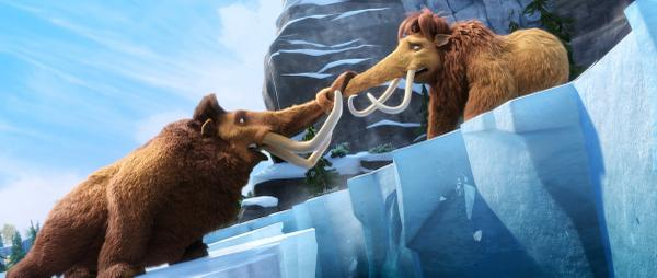 ice age on twitter nothing can come between manny and ellie even