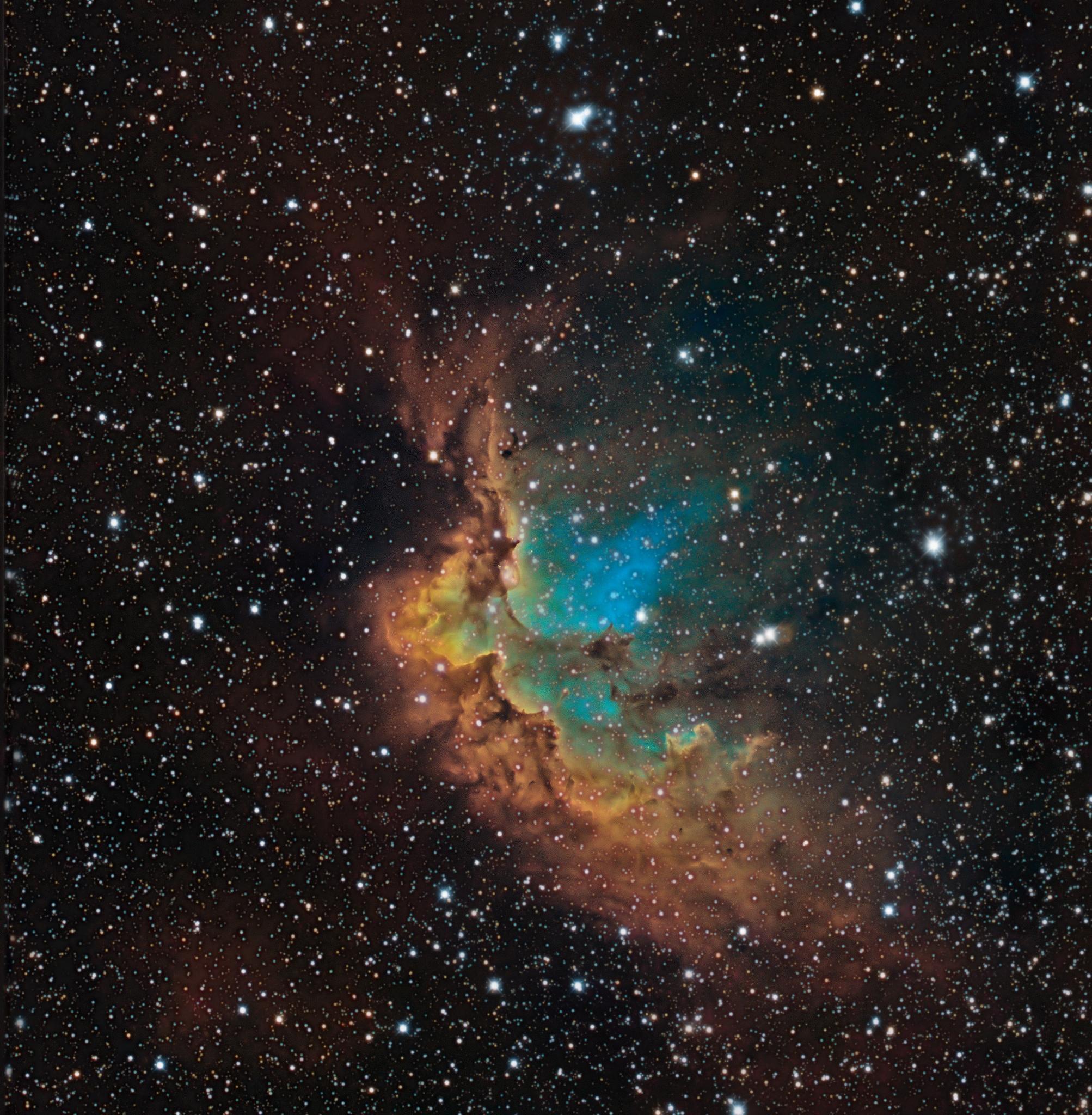 Активное образование звезд в галактике Млечный Путь (2 фото)