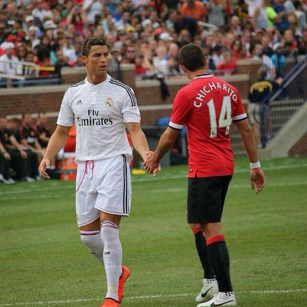 """Javier Hernandez Real Madrid: Bullying Futbolero On Twitter: """"Cr7: Será Un Honor Jugar"""