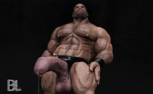 Gya Muscle Cock