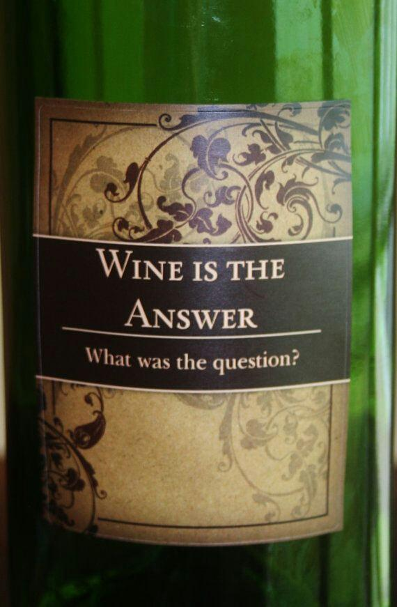#Wine is the answer. What was the #question? #winequote http://t.co/u1m0CsEbIb RT @livsalguero Hehe