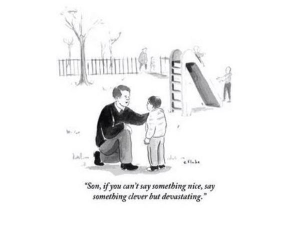 """""""@Prof_IeuanEllis: """"If you can't say something nice ......""""  http://t.co/qYoQzp7WrD"""