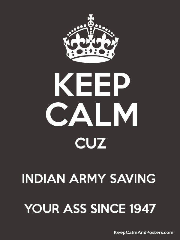To all the stone pelters of Kashmir, keep calm because Indian Army is saving your asses. #KashmirFloods http://t.co/ydwtyA7KP2