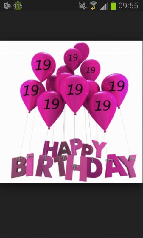 gefeliciteerd met je 19e verjaardag Emma (@emmmb) | Twitter gefeliciteerd met je 19e verjaardag