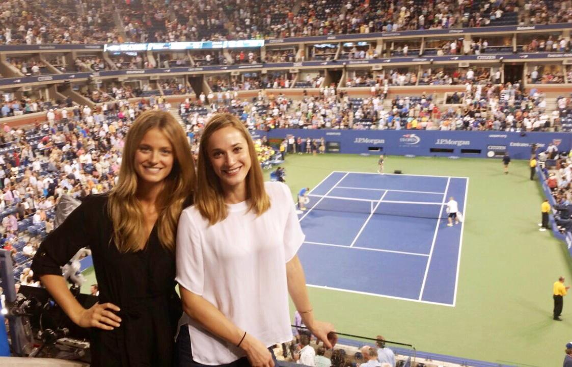 Federer for the W !! 🎾🗽🌐 @ US OPEN Tennis Championships http://t.co/ItzRpDlCpR