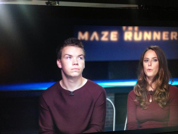 Will Poulter On Twitter Interviewer So Will You Started Your
