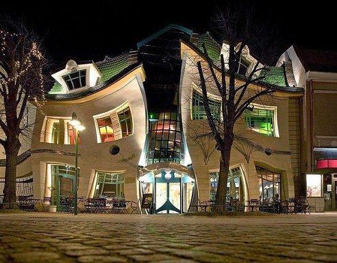 Любителям «прекрасного»: кривой дом в Сопоте