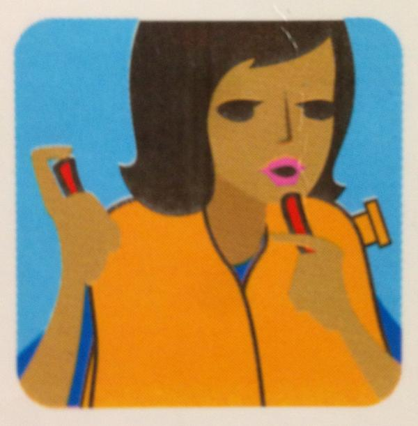 Apply lipstick before exiting the aircraft. http://t.co/cqk9KC9U1r