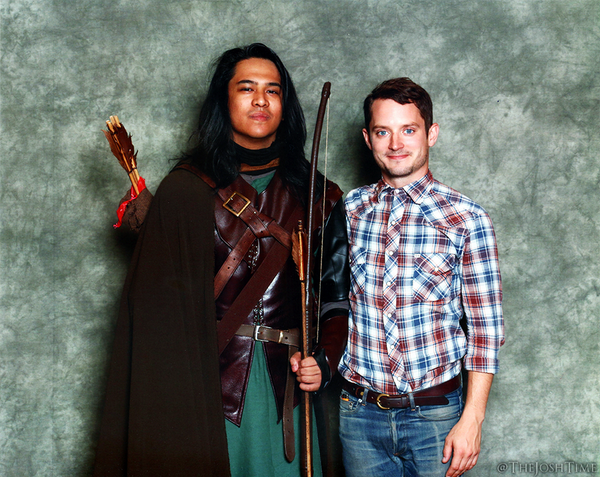 Capt. Faramir, Mr. Baggins is alive and well. Recognised me immediately. #Ranger #LotR @woodelijah @MiddleEarthNews http://t.co/qSZTSld9aA