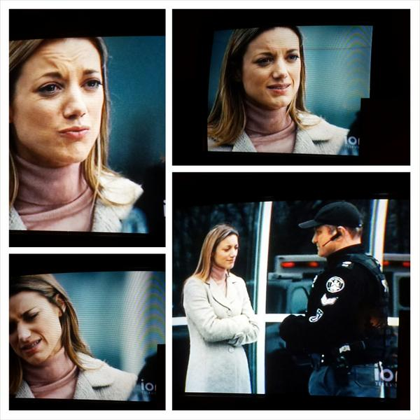Had the tv on in the background, then looked up when I happened to hear @ZoiePalmer 's voice! #LostGirl #Flashpoint http://t.co/R3J8Tcjf6n