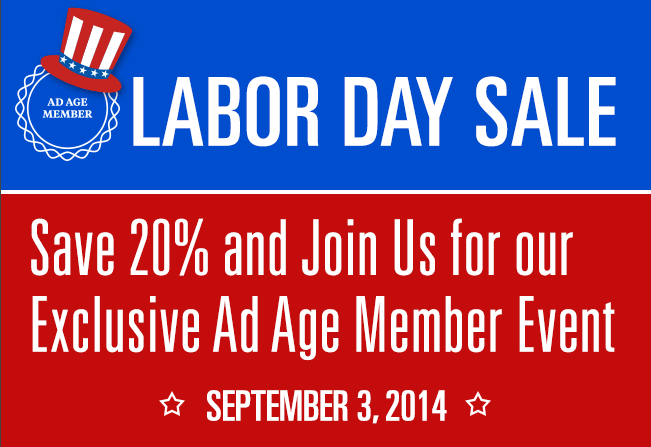 Last chance to Save 20% w/ our Labor Day Sale & join us for our Exclusive Members Event Wed! http://t.co/WJ2Uhcjvcl http://t.co/f6V7ULyoYO