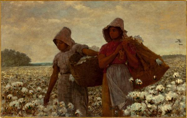 "Winslow Homer (Massachusetts, Boston, 1836-1910), ""The Cotton Pickers,"" 1876  @LACMA http://t.co/qVhdWe3XgC"