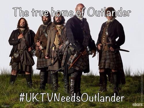 Bring #Outlander home! @skyatlantic @Outlandish_UK @SonyUK #UKTVNeedsOutlander http://t.co/eqat1bwkQH