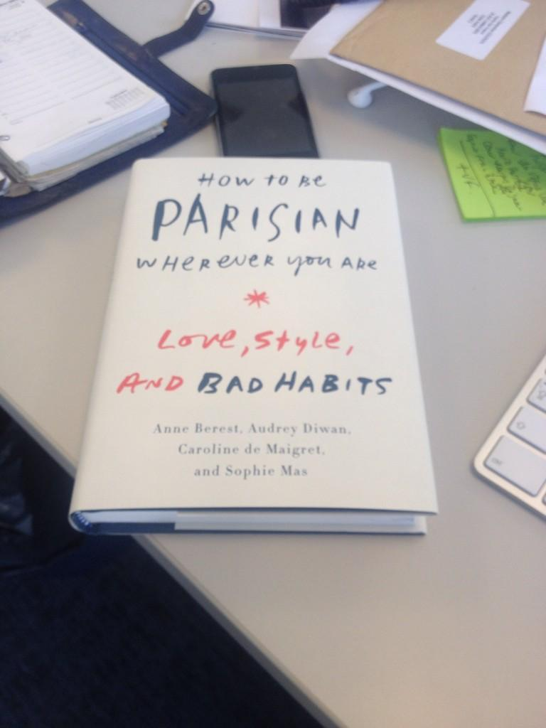 RT @Clemgold: Oh my! Moment émotion. @howtobeparisian @MasSophie @Carodemaigret @AudreyDiwan #anneberest http://t.co/PcJo4TaQ6h