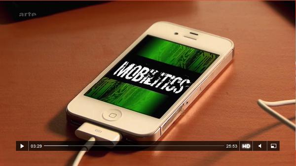 [REVOIR] La face cachée de vos smartphones dévoilée sur @ARTEfr ► http://t.co/1J9V4QzkAv http://t.co/O07cyt8rqY via @CNIL