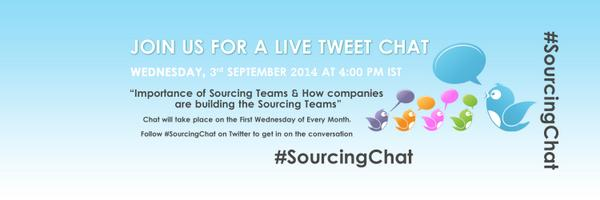 Thumbnail for #SourcingChat on Importance of Sourcing Teams & How companies are building the Sourcing Teams