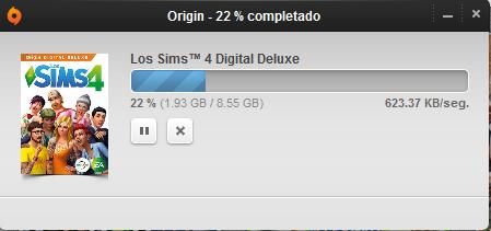 Descargando de Origin