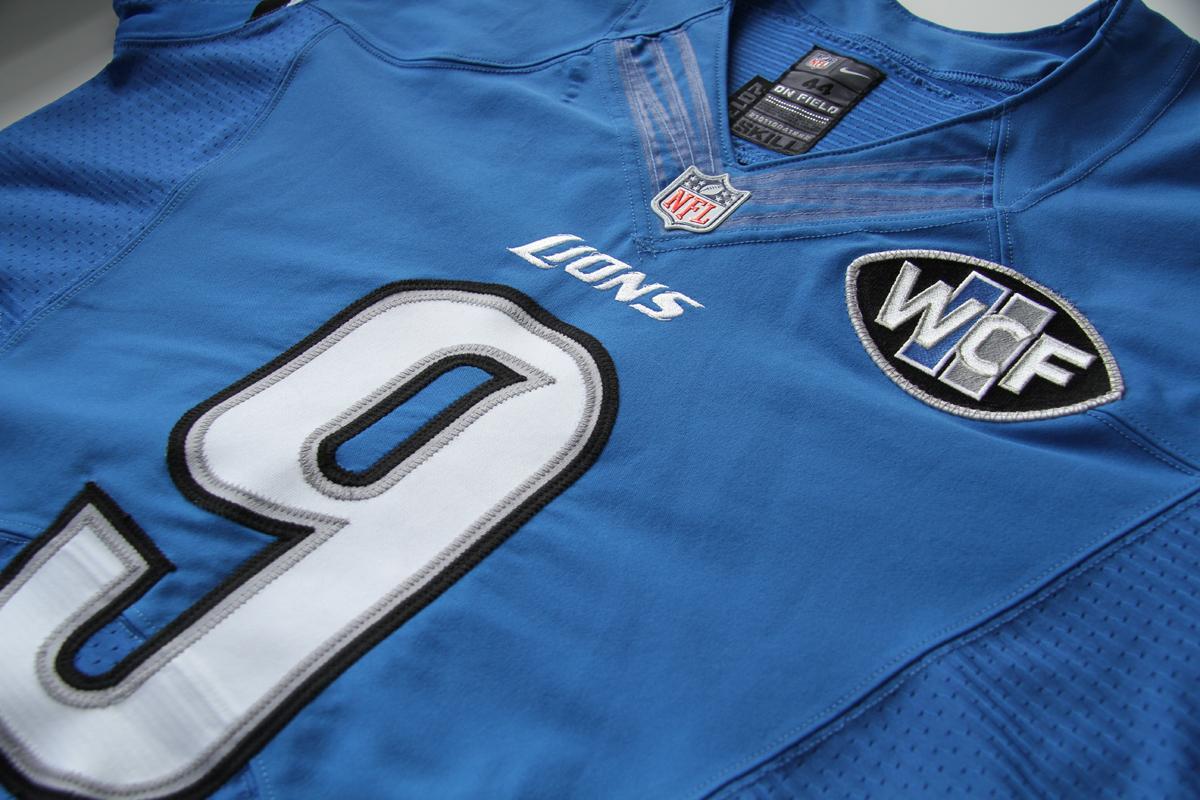 newest 5aef9 2efdb wcf lions jersey