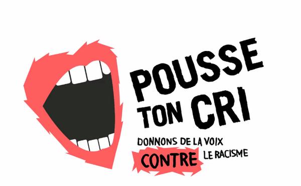 """Lancement de la campagne web """"Pousse ton cri""""."""