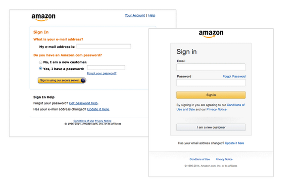 Amazon Updates Their Login Screen For The First Time In A Decade http://t.co/DVllrxOCUY http://t.co/Dp76Qaljqh
