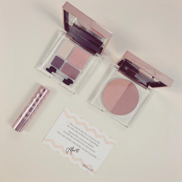 La collection #AlexLW en vente en ligne dès aujourd'hui!Bon shopping! #rosegold #maquillage #lisewatier @AlexFBeauty http://t.co/nEUnOdcM8j