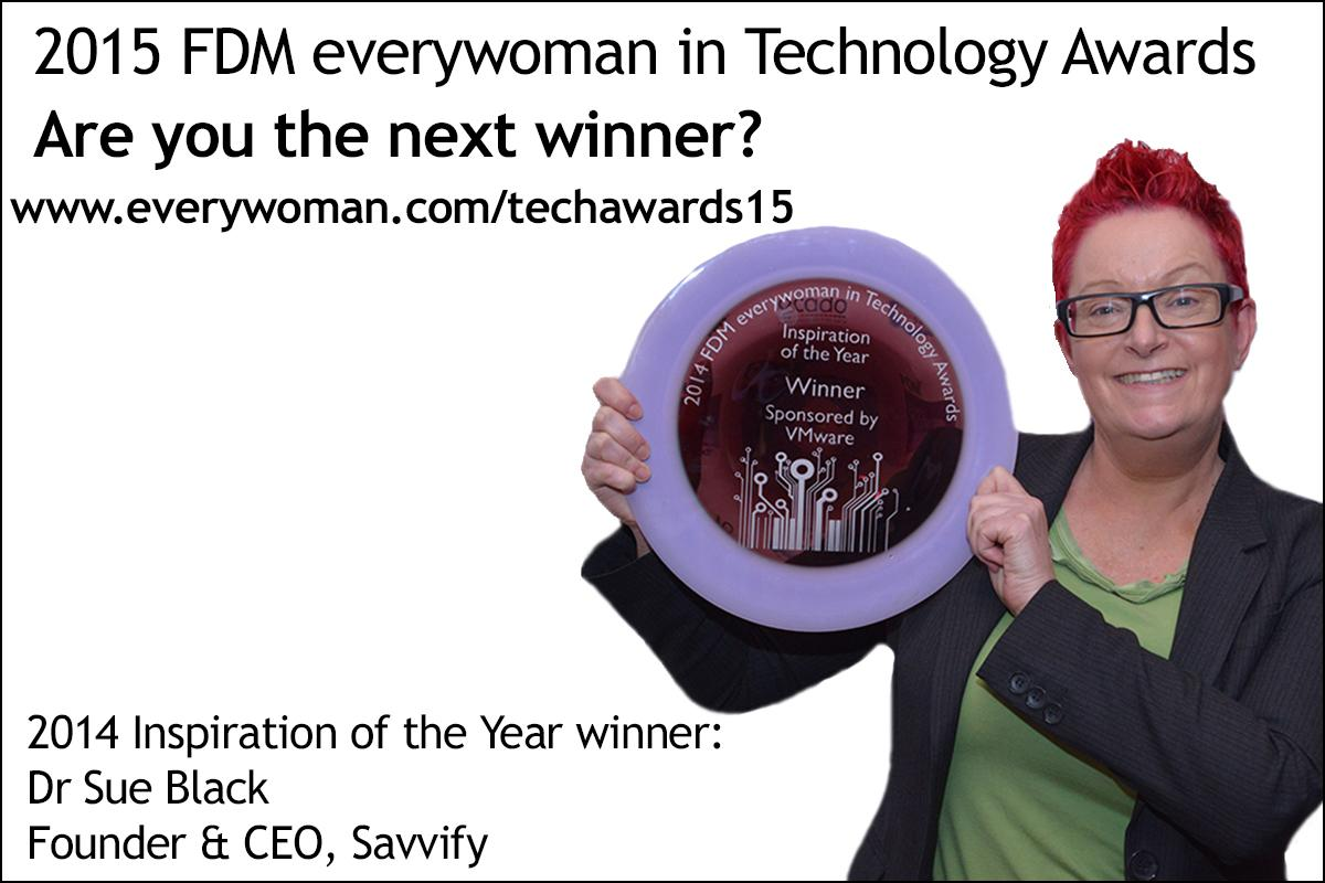 RT @everywomanUK: Could you or someone you know be the next @FDMGroupLtd #ewtech winner like @Dr_Black?  http://t.co/Ccia49bn9W http://t.co…