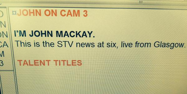 This is why I pronounce my name so boldly at the beginning of the @STVNews. It's in caps. That means you shout it. http://t.co/OTtqANBzSX