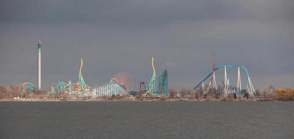 Amusement park in Sandusky, Ohio