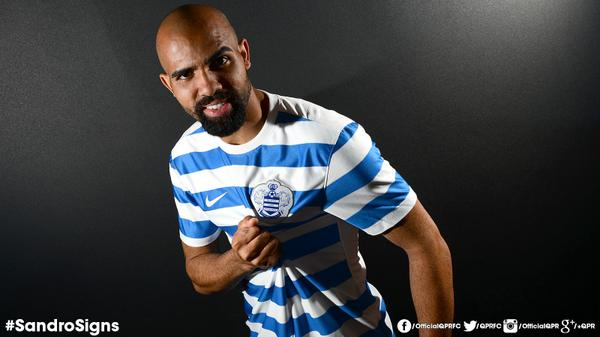 Welcome to the #QPR family, @sandroraniere! #SandroSigns http://t.co/zxlbTBrMAP