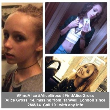 Pics of missing #AliceGross, 14, from Hanwell, UK - inc green cardigan she was wearing Thurs #FindAlice http://t.co/LAYaPw1kMc
