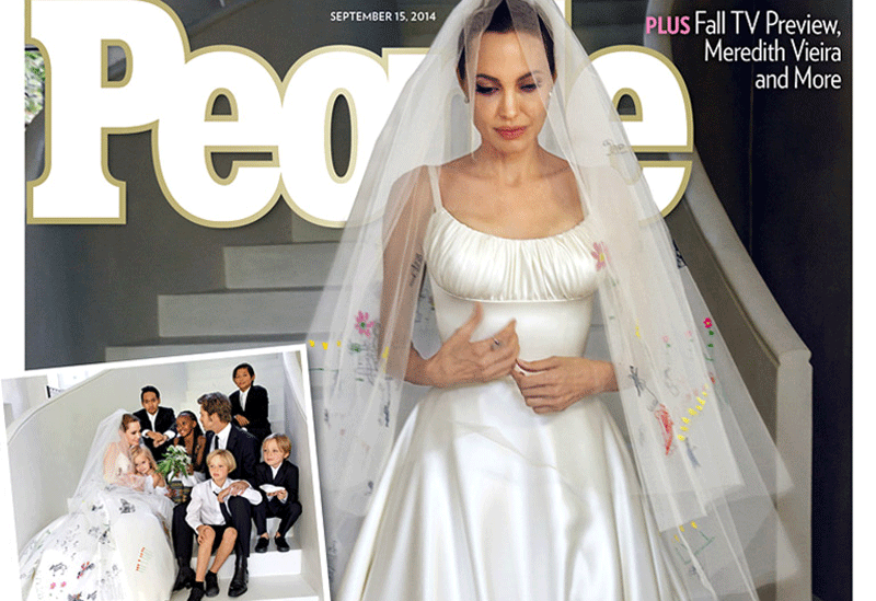 OH WOW. The pics of Brad Pitt and Angelina Jolie's wedding have landed - and they're dreamy http://t.co/Zkh5glFKnw http://t.co/CY9BlfXUW1