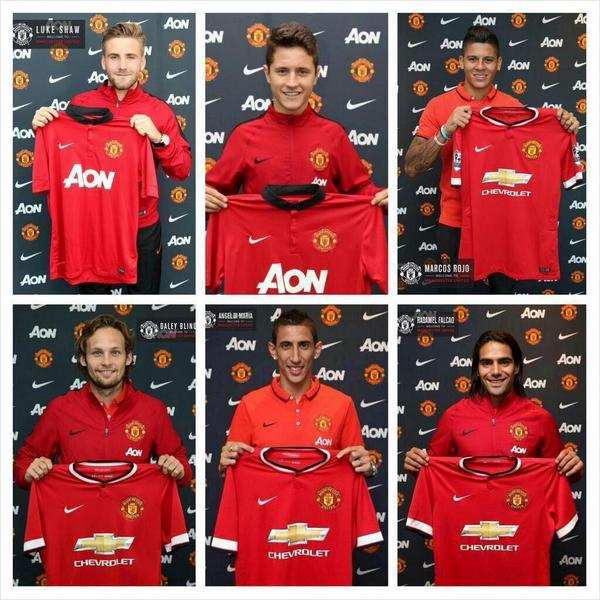 Signed. Sealed. Delivered #mufc http://t.co/IsHyxluZ2r