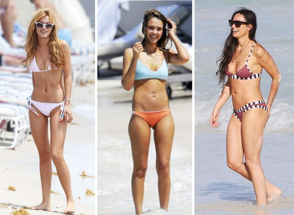 Say goodbye to summer with the best celeb bikinis of the season!: http://t.co/yx5aB07qXf http://t.co/B0Qg69zMfq