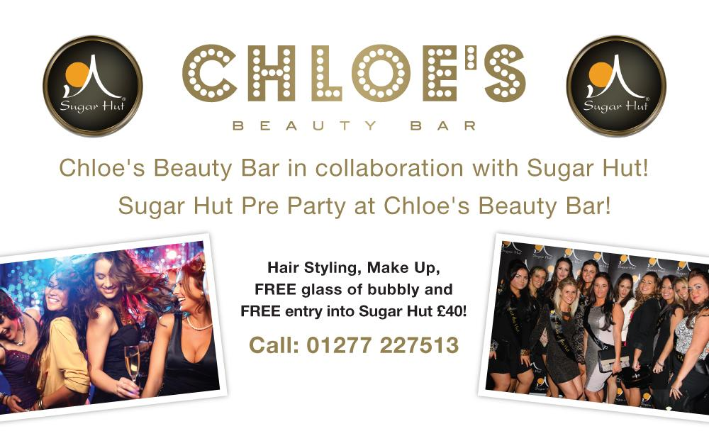 Book your treatments @ChloesBeautyBar this weekend and enjoy the special @sugarhut offer! http://t.co/ElpW1v1Z25