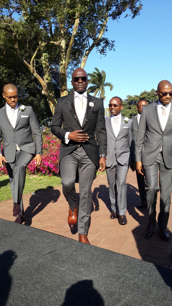 Minister gigaba wedding