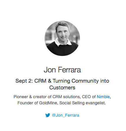 TODAY on #Bizheroes! @Jon_Ferrara will talk about How to Turn Community into Customers! #CRM - Are you ready?! http://t.co/r5ER1hs1RY