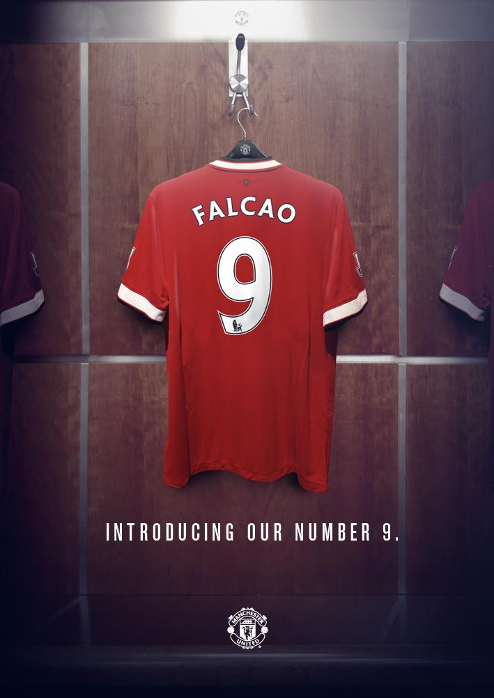 manchester united on twitter everyone at mufc can 39 t wait to see falcao pull on the no 9. Black Bedroom Furniture Sets. Home Design Ideas