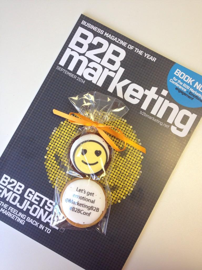 RT @Workbrands: Biscuits with @MarketingB2B mag today, nicely timed! Thanks! #elevensies http://t.co/wUX9AbIbLV